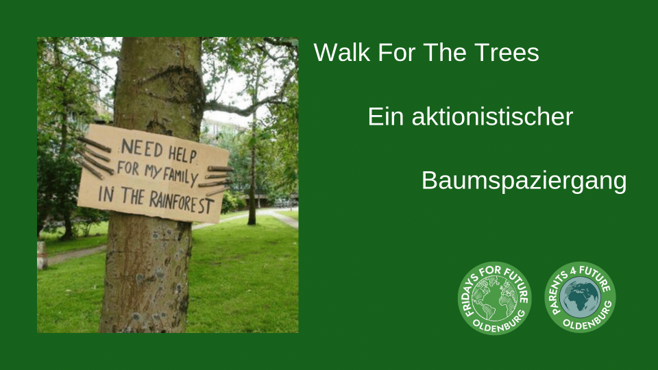 Bild zu Walk For The Trees - Ein aktionistischer Baumspaziergang mit Start Julius-Mosen-Platz